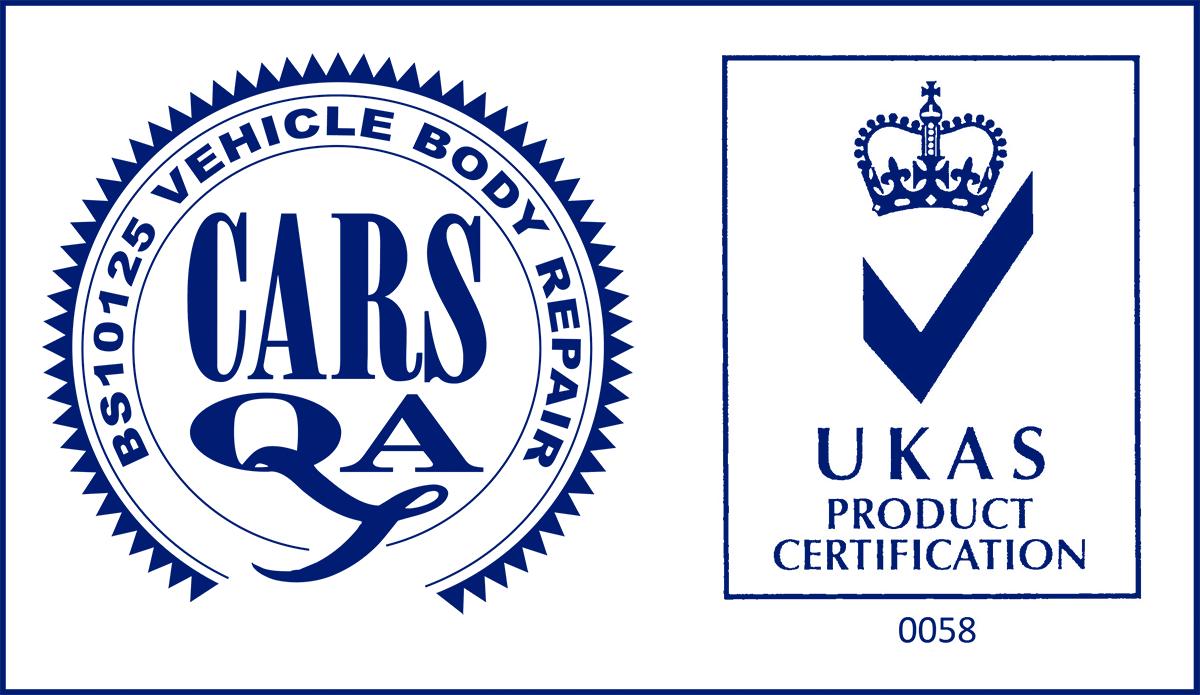 BS10125-2014 Vehicle Body Repair UKAS Product Certification