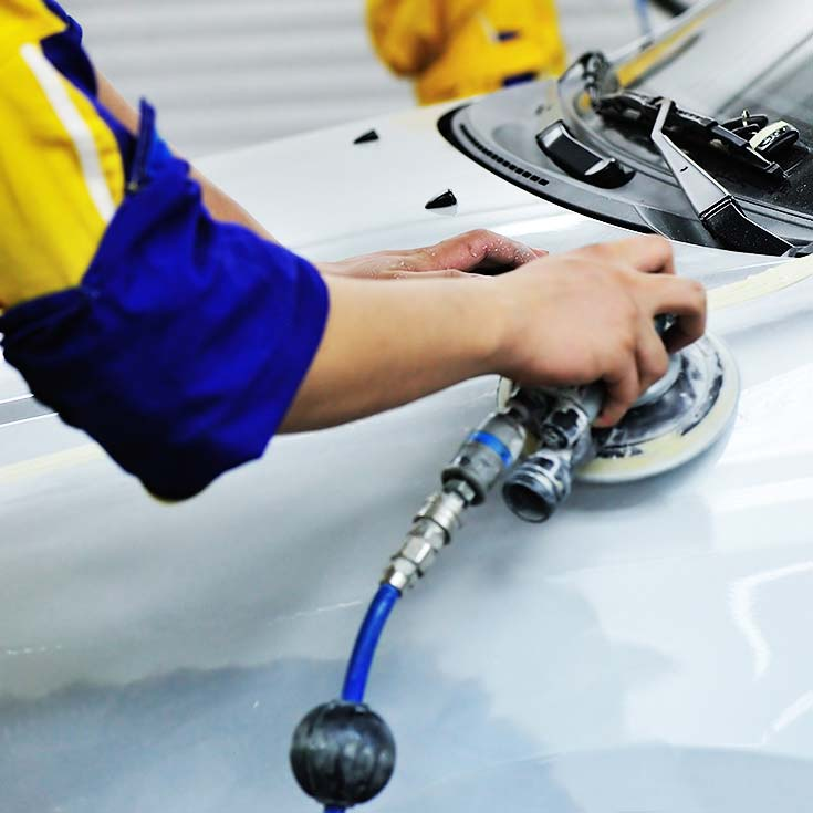 EGCR provide SMART paintless vehicle repairs